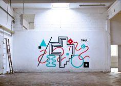 Tokae\\\'s graffiti