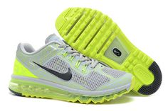 Air Max 2013 - Grey Yellow Paint for Male (Arriving at Retailers) #shoes