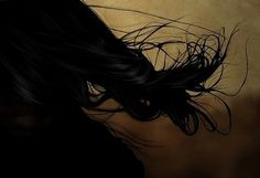 INI #sexy #mode #hair #digital #illustration #photoshop #fragil #fashion #drawing