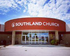 Southland Church logo signage #signage #church #logo #wheat