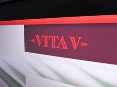 Vita V on Behance #website #logo #logotype #web