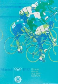 1972 Olympic flyer by Otl Aicher #otl #flyer #aicher #olympics #munich