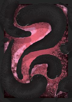 #worms #worm #poster #illustration #design #digitalpainting #pink #bite