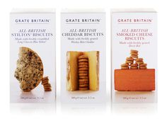 Artisan Biscuits Grate Britain range | Irving #packaging #artisan