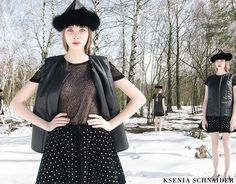 Ksenia Schnaider fall/winter 2013 #fashion