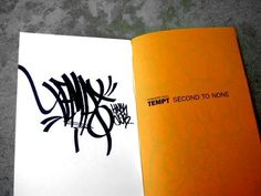 eyeone   seeking heaven #design #typography #graffiti #zine #tempt one