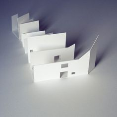All sizes | onin bidea_maketaren hastapenak | Flickr - Photo Sharing! #model #design #craft #architecture #arquitectura #basic #paper #maqueta