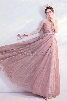 eDressit Sexy Corset Pleated Bodice Shiny Party Evening Dress (36225546)