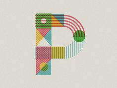 P #type #letter