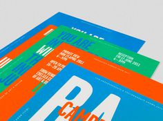 CCW Progression CentreExhibition / Editorial Here I go #design #graphic