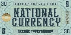 typelove_nationalcurrency_01 #typography
