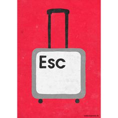 50 Mindshots from Sergio Ingravalle on Behance #suitcase #escape