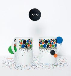 RINZEN . Domestic Mugs #eyes #mugs #products