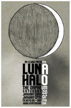 125 Concert Posters #halo #poster #luna