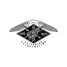 Artwork Vol.03 on Behance, Betrayer Family #hand drawn #typography #illustration