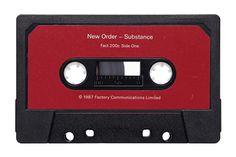 Julien Roubinet - Cassette - Substance by New Order #neworder #cassette #vintage #julienroubinet #substance
