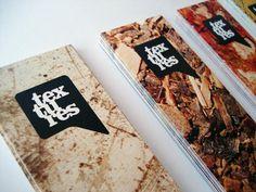 Textures Collettiva Contemporanea on the Behance Network #design #graphic #textures #bookmark