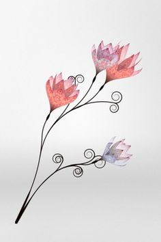 Creative Review - Mulberry says it with (digital) flowers #illustration #flowers