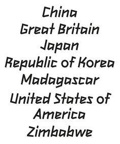2012Headline typeface