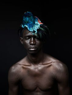 Designer Ashley Lloyd #headdress #design #feathers #photography #ashley #portait #lloyd #beauty