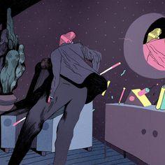 Bob's second nightmare, Rune Fisker #illustration