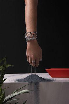 Set design for Captve jewellery