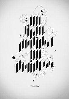 Typography | Tumblr #typography #poster #calligraphy