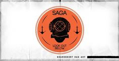 Saga Outerwear Collection. on the Behance Network #logo #design #vintage