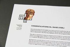 OCAD University Visual Identity #print