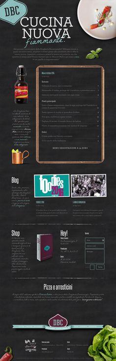 Website of Drogheria Buonconsiglio #blackboard #webdesign #micheletenaglia