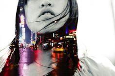 design etc. — cosascool:Julia Wang #photography #double exposure #people