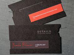 Studio On Fire // Design & Letterpress Blog #card #business