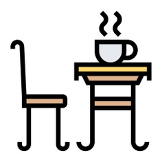 See more icon inspiration related to tea, tea table, food and restaurant, furniture and household, tea cup, chair, table and cup on Flaticon.