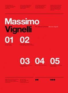 Merde! - kentson: Poster (Vignelli)Â #massiomo #design #graphic #vignelli