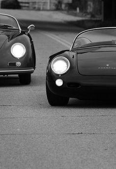 Nice Porsches #blackwhite