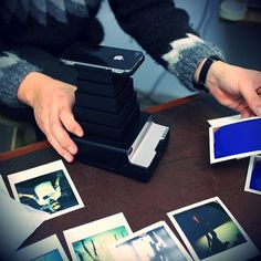 Impossible Instant Lab iPhone to Polaroid Converter #gadget
