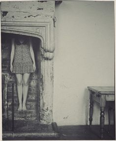 Vikram Kushwah PiotruÅ› Pan #interior #girl #hidden #retro #photography #vintage #fireplace #kushwah