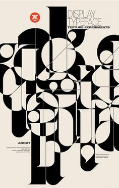 FYI Monday: Modernist Typography Posters by Áron Jancsó #typography #poster #jancso