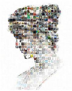 HYPATIA #inspiration #visual #haypatia #design #digital #art #collage