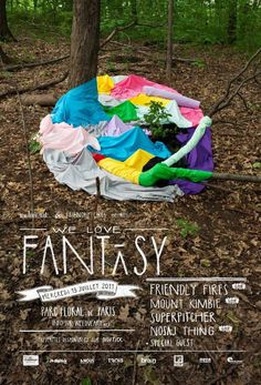Vallee Duhamel We Love Fantasy #poster