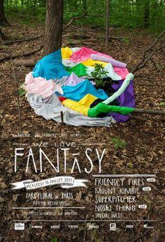 Vallee Duhamel We Love Fantasy #poster