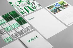 Bunch #print #design #identity #bunch #green