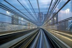 City side - take 2 | Flickr - Photo Sharing! #train #long #photography #exposure