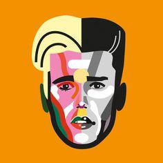 #illustration #portrait #bieber