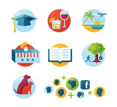 eHarmony Icons Matt Lehman Studio #illustration #icons