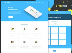 Anduous Free Flat Agency Website Template
