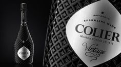 Colier bottle and package design #identity #wine #bottle