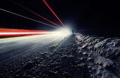Mysterious Photography of Mikko Lagerstedt | Abduzeedo | Graphic Design Inspiration and Photoshop Tutorials #snow #exposure #night #mikko #lagerstedt #long #light #trails