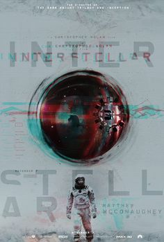 Posters by James Fletcher4 #inspiration #creative #movie #interstellar #print #design #space #unique #poster #film