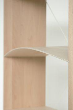 Bookshelf' by Ivan Zhang #bookshelf #minimalist #minimal